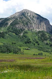 Mt. Crested Butte Stock Image