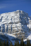 Mt. Crowfoot ,hanging glacier in cirque Royalty Free Stock Photography
