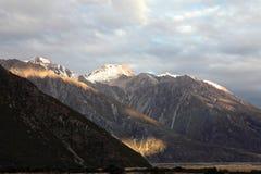 Mt Cuisinier, île du sud Nouvelle-Zélande Photographie stock libre de droits