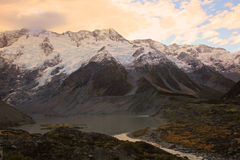 Mt Cuisinier, île du sud Nouvelle-Zélande Image libre de droits
