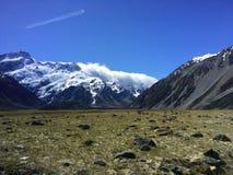 Mt Cuisinier au Nouvelle-Zélande Image stock