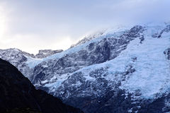 Mt Cuoco, isola del sud Nuova Zelanda Immagini Stock Libere da Diritti