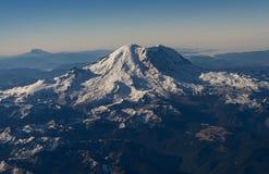 Mt Dżdżysty od powietrza Zdjęcia Stock
