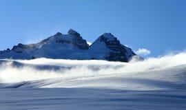 Mt. de Internationale Piek en Argentijnse Piek van Tronador royalty-vrije stock afbeeldingen