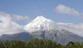 Mt. de vulkaan van Egmont Stock Fotografie