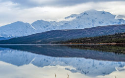Mt. Denali reflections Royalty Free Stock Image