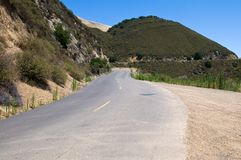 Mt. Diablo road Royalty Free Stock Photo