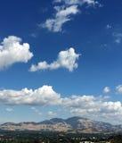 Mt Diablo un giorno della nuvola Fotografia Stock Libera da Diritti