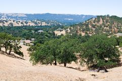 Mt. Diablo view royalty free stock photos