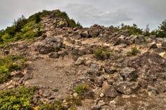 Mt Eboshidake fa parte delle alpi giapponesi nella prefettura di Nagano ed è alto 2.066 metri Fotografia Stock Libera da Diritti