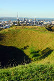 Mt eden crater Stock Photography