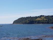 Mt Edgecumbe da enxada do som de Plymouth Fotos de Stock