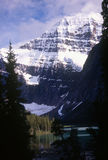 Mt Edith Cavell Foto de Stock Royalty Free