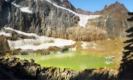 Mt. Edith Cavell Jasper National Park Royalty Free Stock Photos