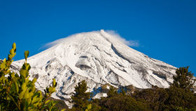 Mt Egmont or Mt Taranaki Stock Photo