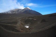 Mt el Etna Fotografía de archivo libre de regalías