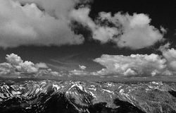 Mt Elbert fotografia de stock