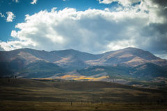 Mt elbert Royaltyfria Bilder