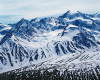 Mt. Elias Range, Alaska Stock Photography