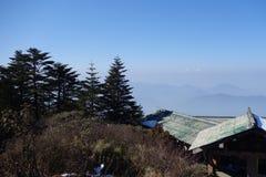 Mt Emei Fotos de archivo