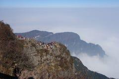 Mt Emei Imagen de archivo