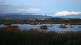 Mt Etna全景  影视素材