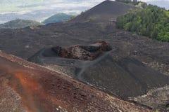 MT Etna Arkivfoton