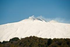 Mt. Etna, Sicília Foto de Stock