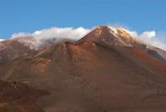 MT Etna, Sicilië, Italië Royalty-vrije Stock Afbeeldingen