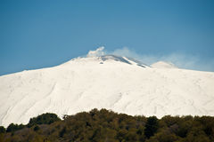 Mt. Etna, Sicily Stock Photo