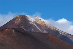 Mt Etna, Sicily, Italy Stock Photography