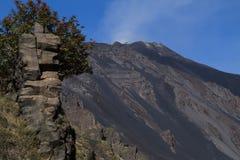 Mt. Etna, stary dajk Obraz Royalty Free