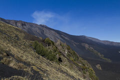 Mt. Etna, Valle del Bove Royalty Free Stock Image
