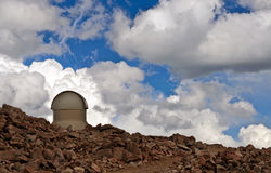 Mt Evans Astromomical Science Observatory Royaltyfria Bilder