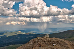 Mt Evans Astromomical Science Observatory Imagem de Stock Royalty Free