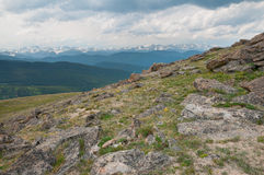 Mt. Evans Highway Royalty Free Stock Photography