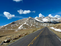 Mt. Evans Road Royalty Free Stock Images