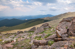 Mt. Evans Scenery Stock Photos
