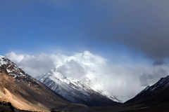 Mt. Everest royalty-vrije stock foto's