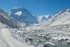 Mt. Everest Stock Image