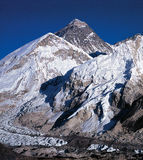 MT everest Stock Foto's