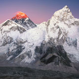 Mt everest Photographie stock libre de droits