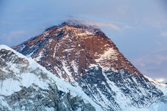 Mt Everest imagen de archivo libre de regalías