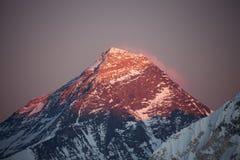Mt Everest imagen de archivo