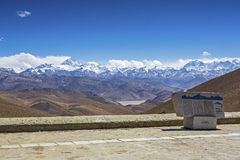 Free Mt. Everest And Flannelette Temple Stock Photography - 33546732