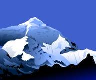 MT Everest bij Ochtend Royalty-vrije Illustratie