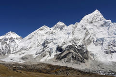 Mt Everest - 8848 M Royaltyfri Bild