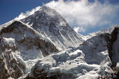 Mt. Everest peak Stock Photos