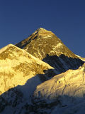 Mt Everest. Worlds highest mountain, Mt Everest (8850m) in the Himalaya, Nepal stock photos