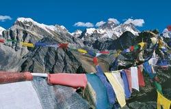 MT Everestwaaier van Gokyo Kalapatthar, Nepal Royalty-vrije Stock Afbeeldingen